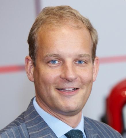 Stijn Vriends C.E.O. de Faster S.p.A. (Business Wire: Foto)