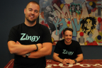 Follow Members Of The Team Behind Zingy @TobiSkovron (Left) & @SchaferStewart (Right) (Photo: Business Wire)
