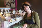 "Gigi Butler, founder of America's largest cupcake franchise Gigi's Cupcakes, to be featured on the hit CBS series ""Undercover Boss,"" Friday, Feb. 13. (Photo: Business Wire)"