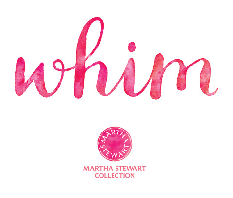 Introducing Whim™, a New Collection by Martha Stewart, Exclusively at Macy's