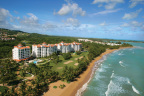 In the tropical setting of Puerto Rico facing the deep turquoise Atlantic Ocean is Ocean Sixteen, an extraordinary beachfront resort community located within the Rio Mar Beach Resort and Spa- a Wyndham Grand Resort. (Photo: Business Wire)