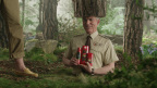 "Still from Old Spice Fresher Collection creative spot ""Woods."" The Fresher Collection is available at retail now. (Photo: Business Wire)"