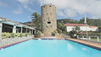 Blackbeard's Castle and seven other estates located in St. Thomas, USVI are now on the market.