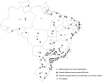 Chart 2: DeVry Brasil Locations including Faci and Damasio Educacional (Graphic: Business Wire)