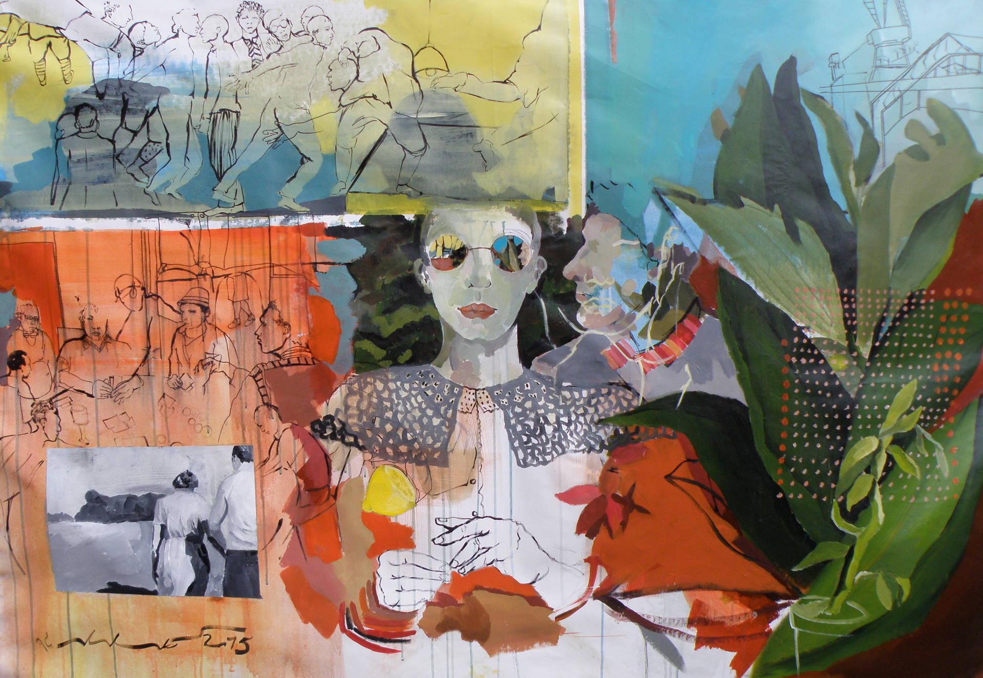 Peinture Pour Ecran Retroprojecteur une peintre française remporte le concours international d