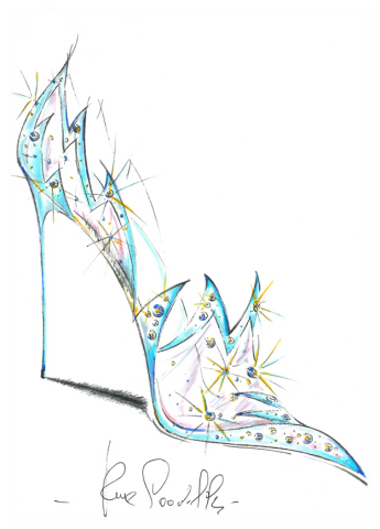 """""""'Works of arts called shoes' to grant wishes and raise emotions. Passion and never ending research don't draw the line at fantasy and creativity. This is how dreams come true in our fairy tale."""" -René Caovilla (Graphic: Business Wire)"""