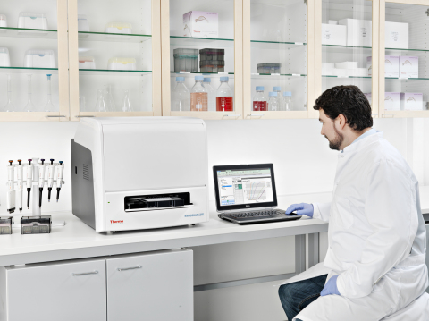 New Thermo Scientific Varioskan LUX Multimode Microplate Reader Delivers Automation, Simplicity and Versatility for Microplate Assays (Photo: Business Wire)