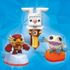 Skylanders takeover Easter. Perfect for Easter baskets this year, Activision will release springtime editions of the fully playable, pocket-sized Skylanders Minis toys -- Power Punch Pet-Vac and Eggsellent Weeruptor - which will be available while supplies last for Skylanders Trap Team. Also available for fans this spring will be the new, limited edition Earth Trap, inspired by the Easter Bunny, to trap Skylands' most notorious villains. (Photo: Business Wire)