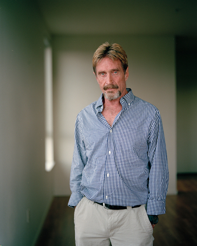 John McAfee (Photo: Business Wire)