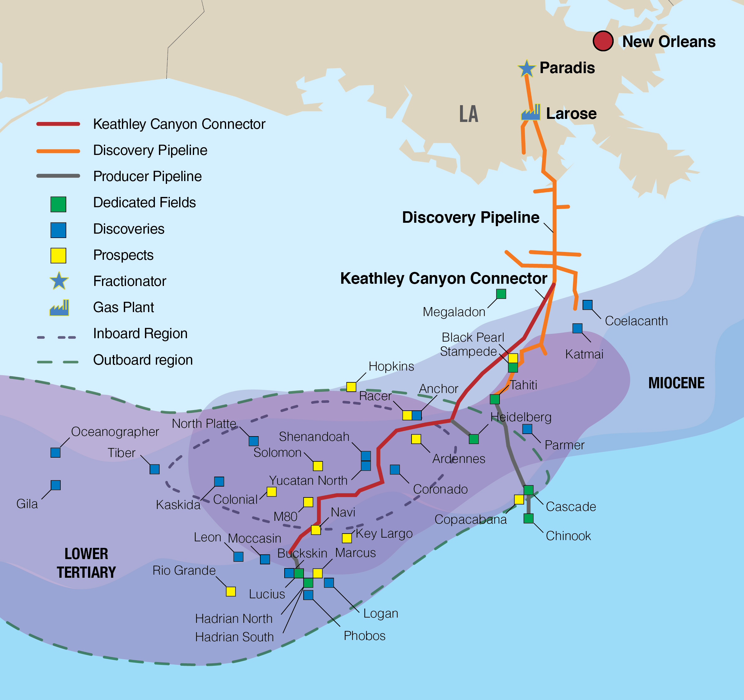 Williams And Dcp Midstream Partners Announce First Gas