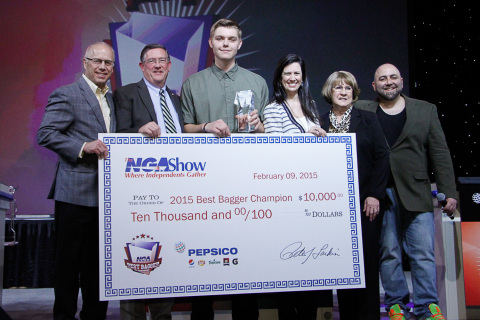 2015 Best Bagger Champion Presentation (Photo: Business Wire)