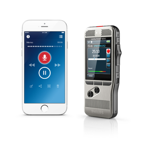 Philips Pocket Memo and dictation app (Photo: Business Wire)