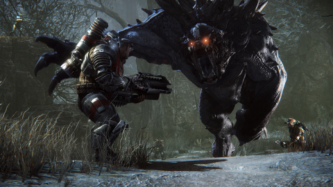 2K and Turtle Rock Studios announced today that Evolve™, the 4v1 shooter in which four Hunters cooperatively fight to take down a single-player controlled Monster, is now available worldwide for Xbox One, the all-in-one games and entertainment system from Microsoft, PlayStation®4 computer entertainment system, and Windows PC. Evolve is a cooperative and competitive experience enjoyed online, as well as offline solo.