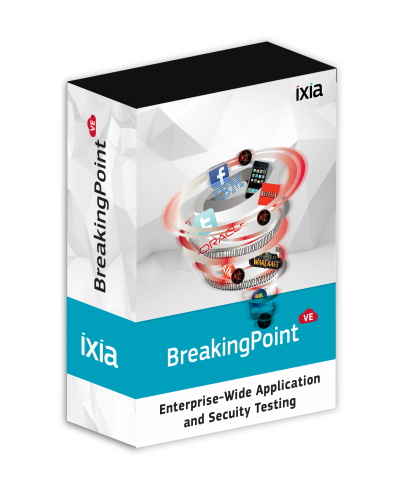Ixia introduces its new BreakingPoint Virtual Edition that provides real-world, scalable application and threat simulation in an elastic deployment model (Graphic: Business Wire)
