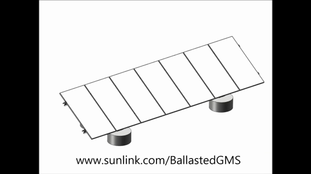 SunLink Corporation introduces a new cast-in-place foundation option for its proven ground mount PV racking system, Ballasted GMS. Unlike the current default construction method of shipping large pre-cast concrete ballast blocks to solar installation sites, the new cast-in-place option leverages off-the-shelf concrete forms and standard construction methods to pour concrete ballasts on site. Watch how it works in this animation from SunLink.