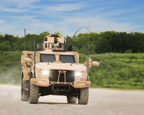 """""""Our JLTV is simply the most capable, reliable light tactical vehicle that's ever been built,"""" said John Urias. (Photo: Business Wire)"""