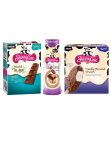 Just in time for Galentine's Day, the Skinny Cow brand has launched nine impossibly good products across its 2015 portfolio of ice creams, candies and, for the first time ever, iced coffee. Three new Creamy Iced Coffee Drinks, two new Blissful Truffle Candy Bars, three new Chocolate Dipped Ice Cream Bars and one new Ice Cream Candy Bar flavor are joining a family of impossibly indulgent, ridiculously sensible products. (Photo: Business Wire)