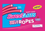 SweeTARTS Ropes is the first of its kind, licorice-style candy with an electrifying flavor and a soft texture. (Graphic: Business Wire)