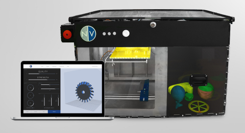 The NVPro 3D Printer and Interface (Graphic: Business Wire)