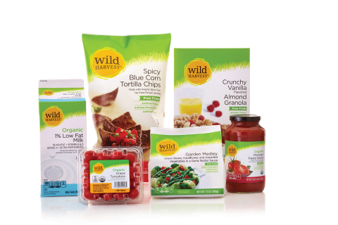 "Wild Harvest unveils refreshed brand, featuring expanded selection of new ""free from"" products (Photo: SUPERVALU)"