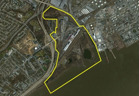 Shuttered in 2013, this 425-acre brownfield site in Claymont, DE will now be environmentally remediated and repurposed for new development by Commercial Development Company, Inc. (Photo: Business Wire)