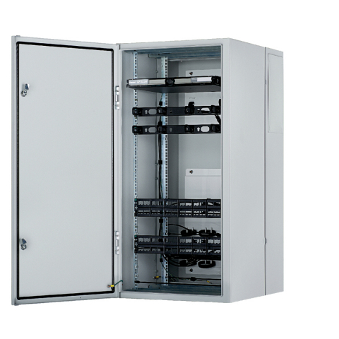 Panduit Releases Pre-Configured Industrial Distribution Frame (IDF) that installs 25% Faster than Non-Pre-configured Solutions and provides Highest Cooling Capacity in the Industry (Photo: Business Wire)