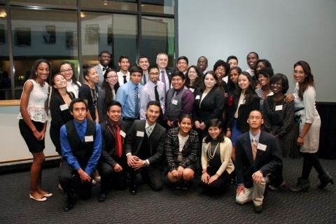 George Mason University Early Identification Program Participants (Photo: George Mason University)