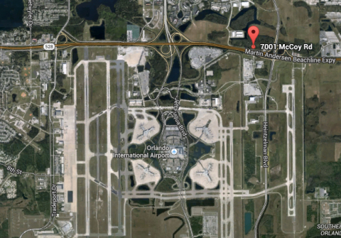 Airport Acres Property on McCoy Road. (Photo: Business Wire)