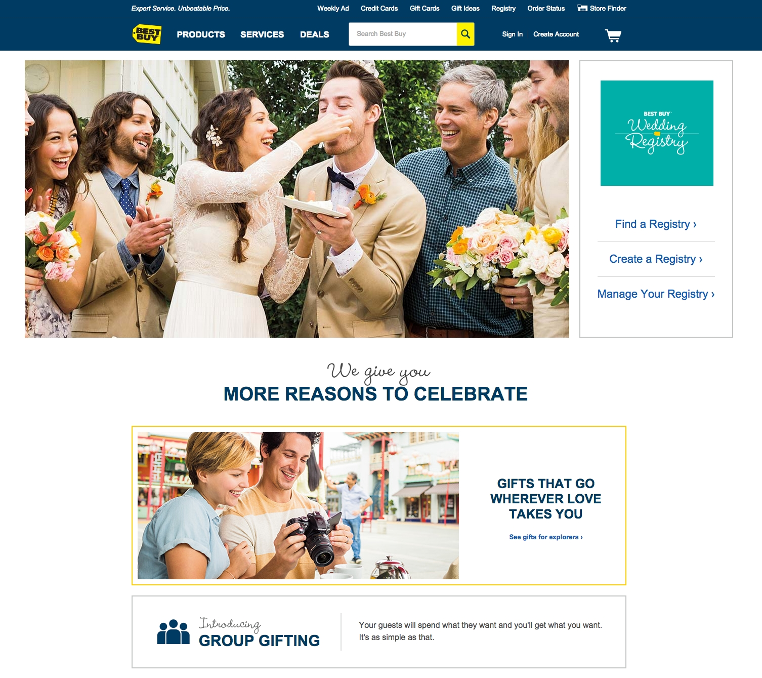 Online Wedding Registry.Best Buy Launches Wedding Registry Business Wire