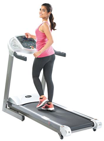 Newgen medicals Laufband - ideal für das heimische Fitness-Training (Photo: Business Wire)