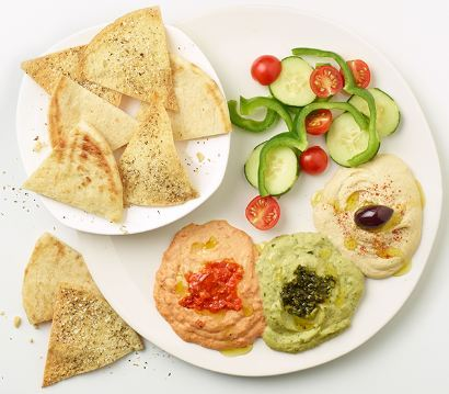 Zoes Kitchen New Hummus Trio Appetizer (Photo: Business Wire)