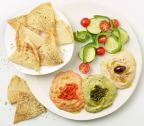 Zoes Kitchen New Hummus Trio Appetizer (Photo: Business Wire)