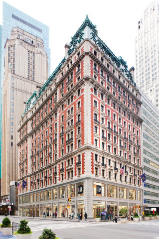 The Knickerbocker Hotel exterior. (Photo: Business Wire)