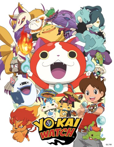 YO-KAI WATCH Franchise To Expand in New Markets Across Multiple Platforms. Hasbro, Inc. To Launch Toy Line in 2016. (Photo: Business Wire)