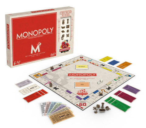 Monopoly 80th Anniversary Edition (Photo: Business Wire)