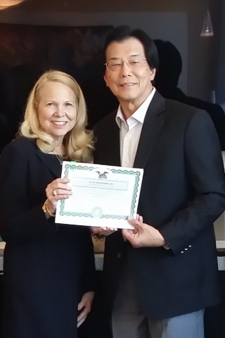 King Koil Changes Hands: Candace Caldwell Smith sells to Jin Hoe Yeoh of Malaysia. (Photo: Business Wire)