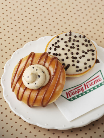 Chips, chips and more chocolate chips! The new Krispy Kreme(R) Chocolate Chip Cookie Dough and Java