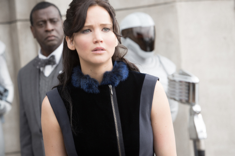 Jennifer Lawrence in Hunger Games: Catching Fire (Photo: Business Wire)