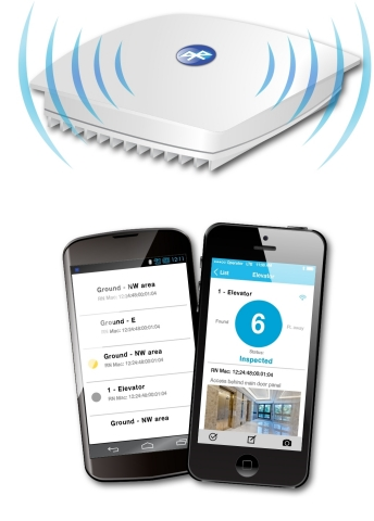 E-RAN Site Manager App for Field Technicians: Radio Node with Low Power Bluetooth (Graphic: Business Wire)