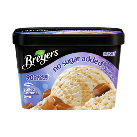 Allergy Alert Issued for Limited Number of Tubs of Breyers(R) No Sugar Added Salted Caramel Swirl Du