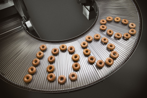 Krispy Kreme is celebrating the opening of its 1,000th doughnut shop with a festive grand opening ev