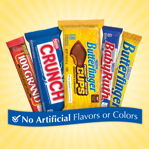 Nestlé USA Commits to Removing Artificial Flavors and FDA-Certified Colors from All Nestlé Chocolate Candy by the End of 2015 (Photo: Business Wire)