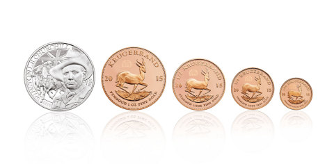 The limited-edition commemorative coin and medal set (Photo: Business Wire)