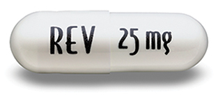 Capsule not actual size Revlimid(R) (lenalidomide) capsule, 25 mg