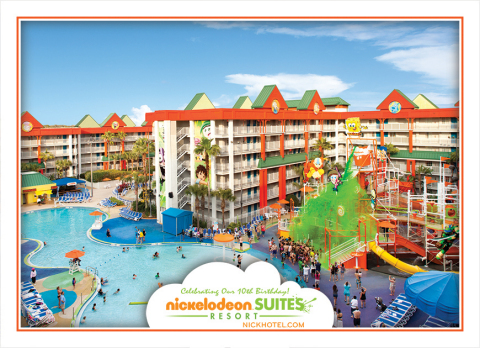 The Nickelodeon Suites Resort's world famous lagoon pool. (Graphic: Business Wire)