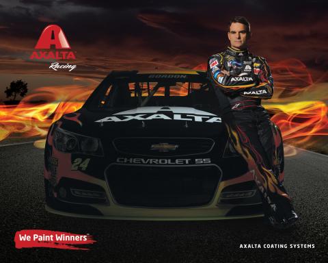 Axalta Racing 2015 Hero Card side 1 (Graphic: Business Wire)