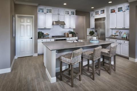 A KB Home kitchen as modeled at the builder's Sterling Chateau community in Vacaville, Calif. (Photo: Business Wire)