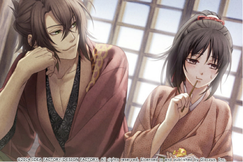 Exclusive Bonus Story for the Hakuoki App (Graphic: Business Wire)