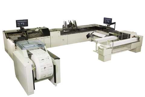 Pitney Bowes Epic Inserting System (Photo: Business Wire)