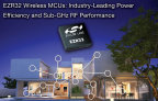 EZR32 Wireless MCUs: industry-leading power efficiency and sub-GHz RF performance (Photo: Business Wire)